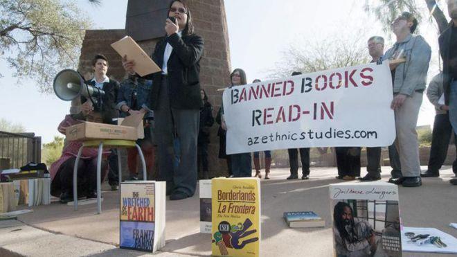 Book Protest Arizona