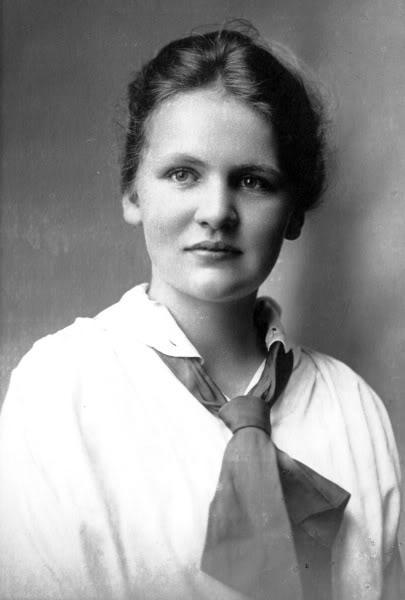 Alice Munro quando jovem
