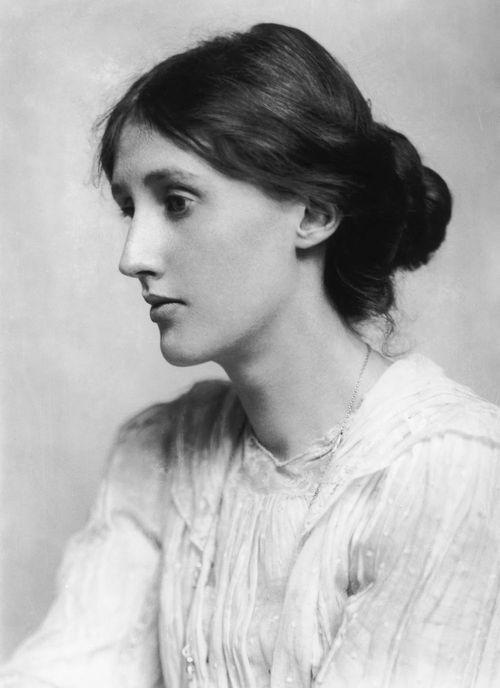 Virginia Woolf por George Charles Beresford (com 20 anos de idade)