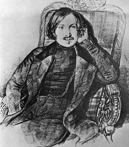 Репродукция портрета Николая Гоголя
