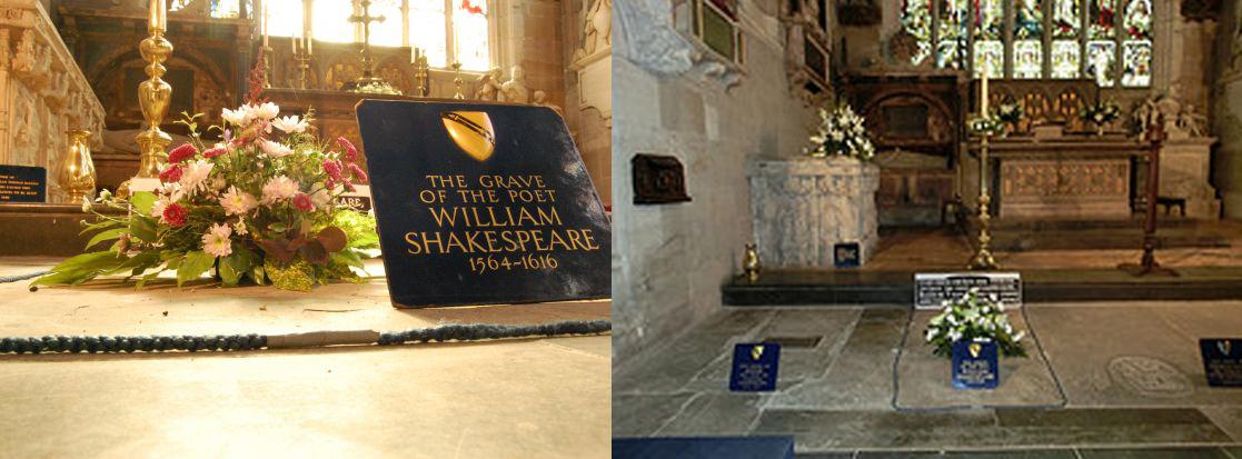 Tumulo de Shakespeare