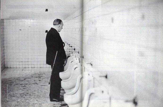Borges en San Ildefonso