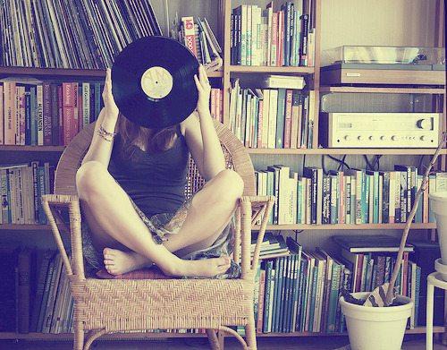Livros e música