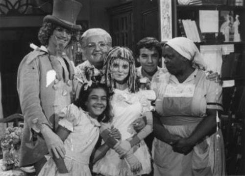 """O programa infantil """"Sítio do Picapau Amarelo"""", Globo, 1977"""