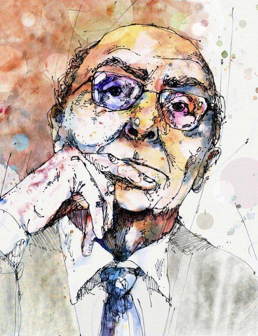 Jose_Saramago_by_COVO
