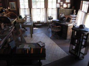 o estúdio de Jack London