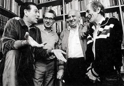 Fernando Sabino, Hélio Pellegrino, Otto Lara Resende e Paulo Mendes Campos