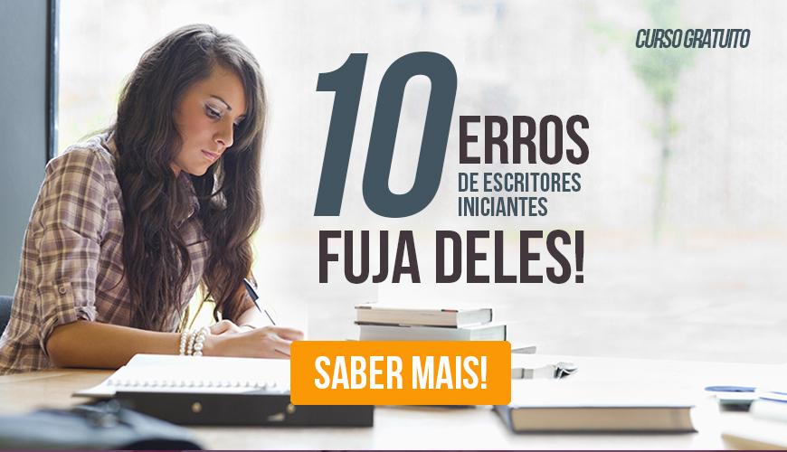 Cursos Gratuitos: Evite erros de escritores iniciantes com este curso