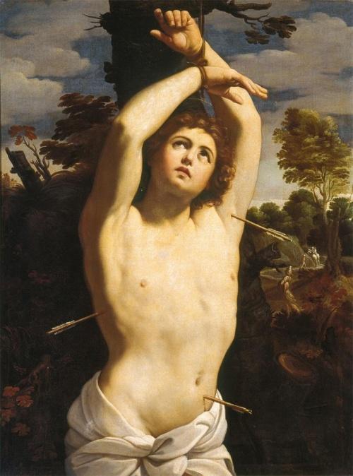 São Sebastião pintado por Guido Reni