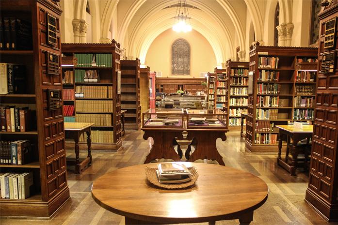 Curso de Letras tem boas bibliotecas?